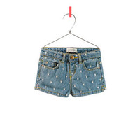SHORTS WITH EMBROIDERED HEARTS - Skirts and shorts - Baby girl - Kids - ZARA United States