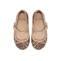 Leopard print ballerina shoes - Shoes - Baby girl - Kids - ZARA United States