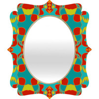 DENY Designs Home Accessories | Paula Ogier Fiesta Quatrefoil Mirror