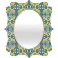 DENY Designs Home Accessories | Paula Ogier Haiku Quatrefoil Mirror