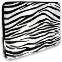 Zebra Animal Print Faux-fur Carryin...