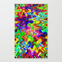 Melting Pot 2 Stretched Canvas by Glanoramay