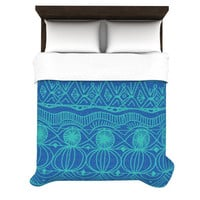Catherine Holcombe &quot;Beach Blanket Confusion&quot; Duvet Cover | KESS InHouse