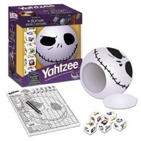 Yahtzee The Nightmare Before Christmas Jack