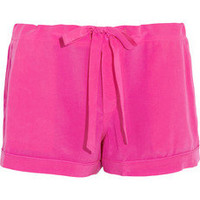 Equipment|Lillian silk pajama shorts|NET-A-PORTER.COM