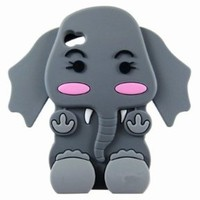 Cute 3D Cartoon Elephant Silicon...