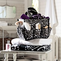 Ikat Bath Beauty Bin