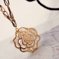 Crystal Rose Fashion Necklace | LilyFair Jewelry