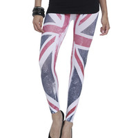 Union Jack Sublimation Legging | Shop Bottoms at Wet Seal