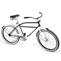 The Classic WWII Men&#x27;s Messenger Bicycle - Hammacher Schlemmer