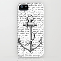 Anchor iPhone & iPod Case by Kristi Kaz