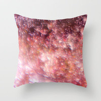 A snow globe of a lovely place to be Throw Pillow by Marianna Tankelevich