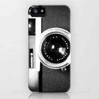 Camera White iPhone & iPod Case by Maressa Andrioli