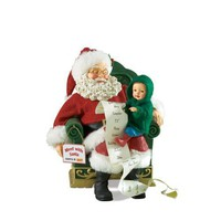 Santa Is Out Figurine Department 56 Possible Dreams
