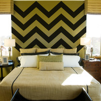 Chevron Stripe Wall Decals (Set of 4)