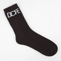 DOPE Classic Logo Mens Crew Socks