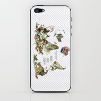 THE WORLD IS NOT ENOUGH iPhone &amp; iPod Skin by Belle13