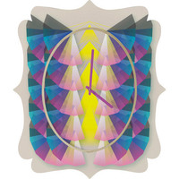 DENY Designs Home Accessories | Gabi Dream 1 Quatrefoil Clock