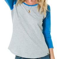 HURLEY SOLID PERFECT RAGLAN | Swell.com