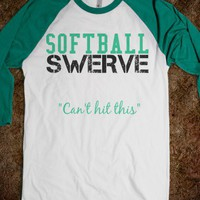 SOFTBALL SWERVE GREEN
