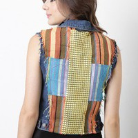 Golden Period Denim Vest