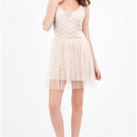 Light Pink Lace Top Ballet Dress