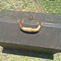 Industrial Toolbox, Kennedy, Fathers Day, Vintage