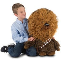 The Mini Talking Chewie - Hammacher Schlemmer
