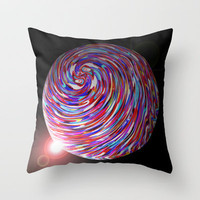 Planet 1 Throw Pillow by Glanoramay