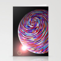 Planet 1 Stationery Cards by Glanoramay
