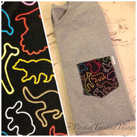 Silly Bandz Pocket Tee, Size: Unisex Adult Small, Medium, Large, Extra Large