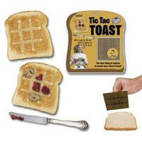 Tic Tac Toe Toast Bread Stamper
