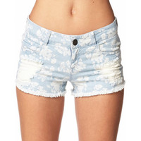 Floral Denim Cut Offs | FOREVER 21 - 2045781816