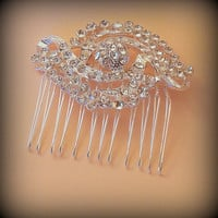 Bridal Hair Comb, Crystal Bridal Comb, Rhinestone Bridal Comb, Bridal Hair Accessories, Wedding Hair comb, Crystal Hair Comb, Vintage Style