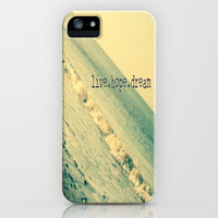 Live.Hope.Dream iPhone & iPod Case by secretgardenphotography [Nicola]