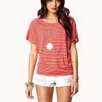 Essential Striped Dolamn Top