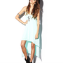 Cutout High-Low Dress