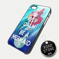 Ariel The Little Mermaid iPhone 5 4/4S Samsung Galaxy S3 S2 Hard Plastic Case