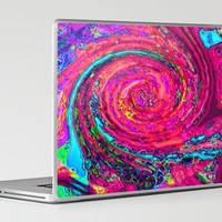 Swirl Laptop & iPad Skin by Paintings by gretzky | Society6