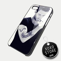 Adam Levine Tattoo iPhone 5 4/4S Samsung Galaxy S3 S2 Hard Plastic Case