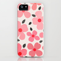 Dogwood Vintage Pink iPhone &amp; iPod Case by Garima Dhawan