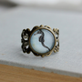 Adjustable Seahorse Filigree Ring