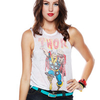 Papaya Clothing Online :: THOR PRINT MUSCLE TEE