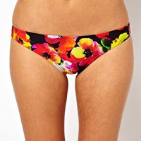 ASOS Bright Floral Hipster Bikini Pant at asos.com