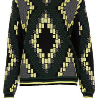 Knitted Jacquard Jumper - New In This Week  - New In