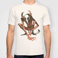 lurk T-shirt by Musa