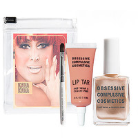 Obsessive Compulsive Cosmetics Lip Tar &amp; Nail Lacquer Set: Lip Sets &amp; Palettes | Sephora