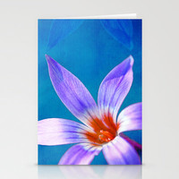 Spring IV Stationery Cards by Viviana Gonzlez
