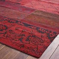 Cadiz Wool Rug - Red