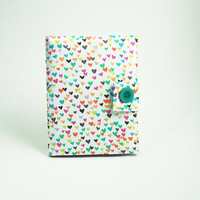 "eReader Case or Sleeve ""Hearts-O-Plenty"" (Kindle, Nook, Sony, Kobo, Pandigital, Velocity)"